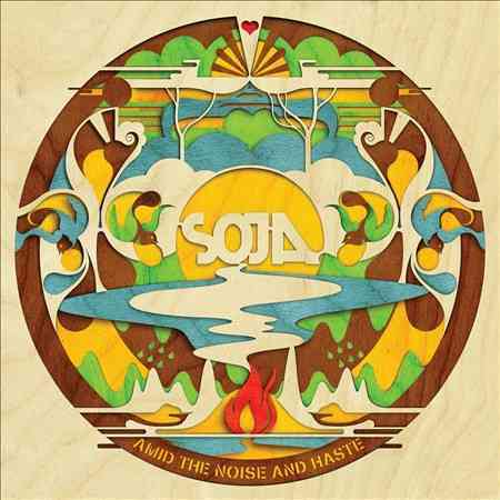 AMID THE NOISE AND HASTE BY SOJA (CD)
